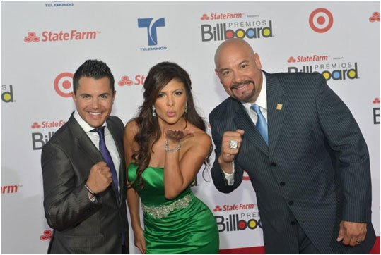 Mirella Grisales at Premios Billboard 2012 Red Carpet in Miami