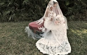 One of kind wedding dress