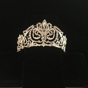 Bridal crown tiara