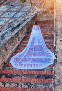 Magnificient Bridal Cape